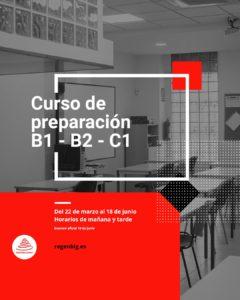 Curso preparación B1, B2, C1